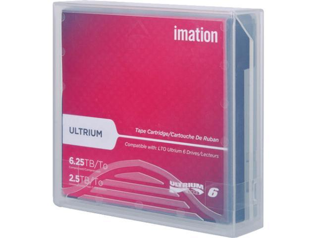 Imation Ultrium LTO 6 Cartridge Labeled with Case