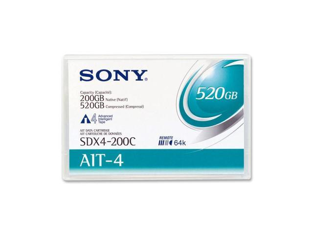 SONY SDX4200CWW AIT4 Tape Media