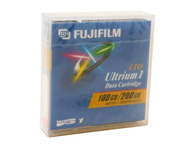 FUJIFILM 26200010 100/200GB LTO Ultrium 1 Tape Media 1 Pack