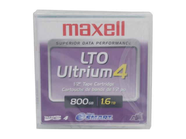 maxell 183906 LTO Ultrium 4 Tape Zip Media
