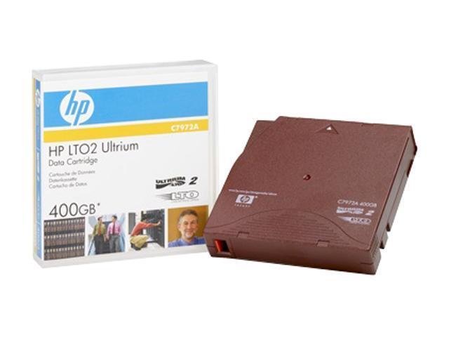 HP C7972A 200/400GB LTO Ultrium 2 Tape Media 1 Pack