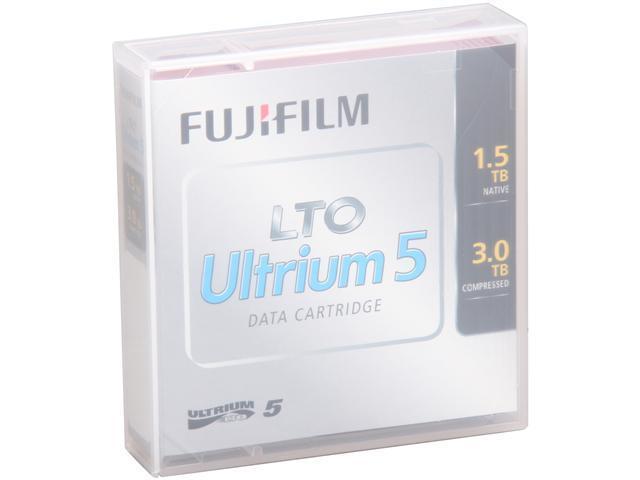 FUJIFILM 16008030 1.5/3.0TB LTO Ultrium 5 Data Cartridge 1 Pack