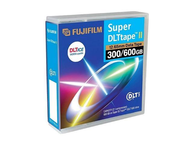 FUJIFILM 26300201 300/600GB Super DLTtape II Data Cartridge 1 Pack