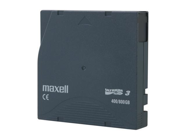 maxell 183900 400/800GB LTO Ultrium 3 Tape Media 1 Pack