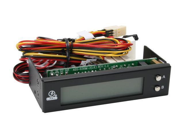 "LIAN LI TR-3B 3.5"" LCD thermometer & fan controller"