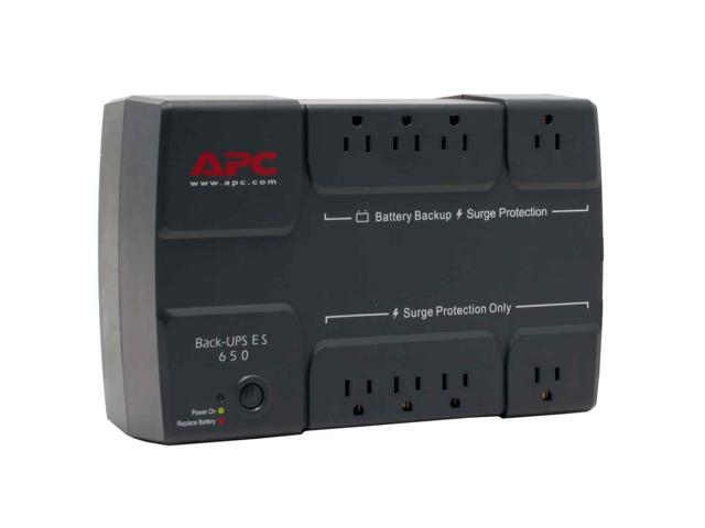 APC BE650R 650 VA 390 Watts 8 Outlets UPS