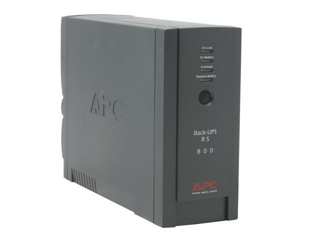 APC BR800BLK 800 VA 540 Watts 7 Outlets UPS