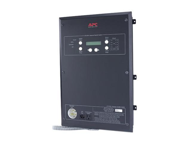 APC UTS10BI Universal Transfer Switch 6-Circuit 120/240V European Version - 240V