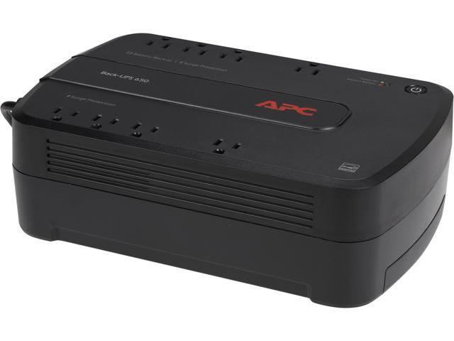 APC BE650G1 Back-UPS 650VA 8-outlet Uninterruptible Power Supply (UPS)