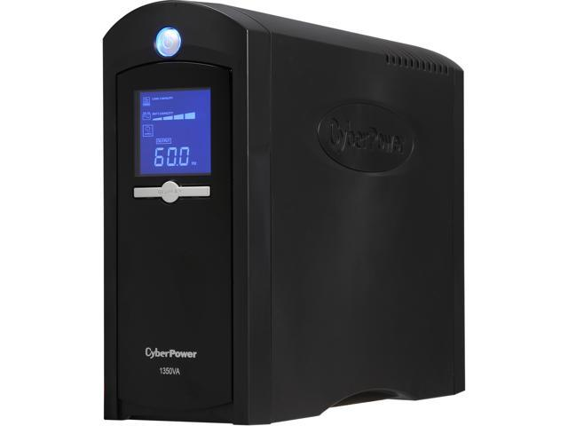 CyberPower Intelligent LCD Series CP1350AVRLCD UPS