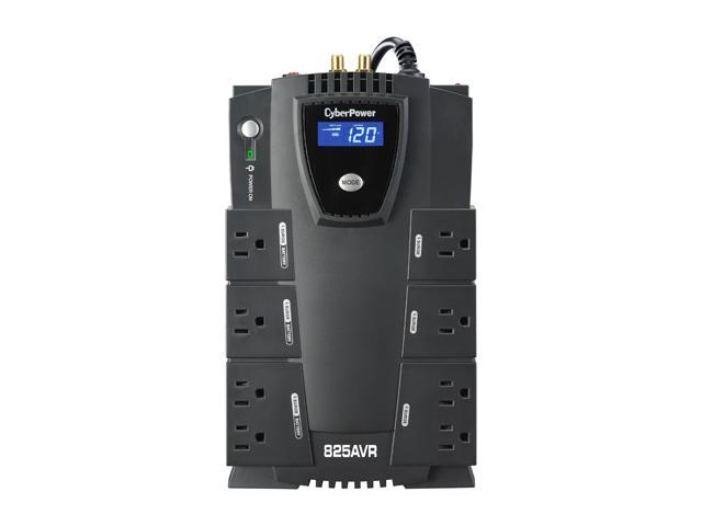 CyberPower CP825AVRLCD 825 VA 450 Watts UPS