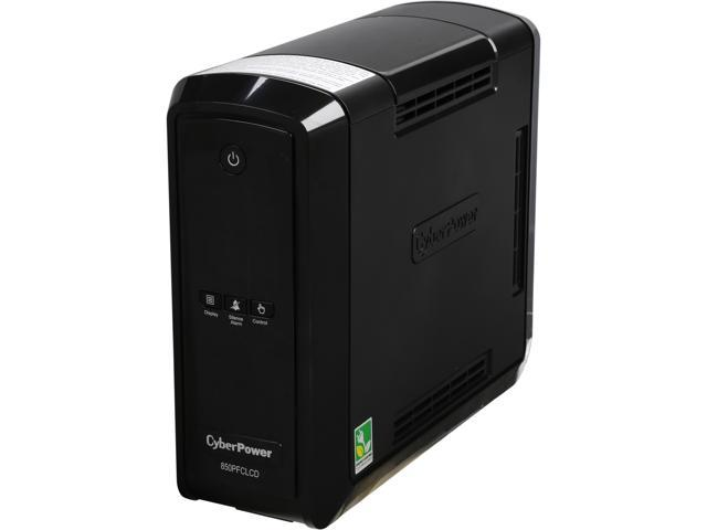 CyberPower CP850PFCLCD PFC Sinewave UPS 850 VA 510 Watts PFC Compatible Mini-Tower