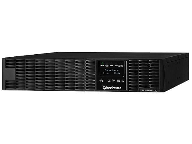 CyberPower Smart App Online OL1000RTXL2U 1000VA 100-125V Pure Sine Wave LCD Rack/Tower UPS
