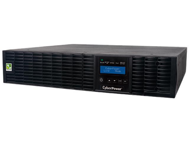 CyberPower Smart App Online OL2200RTXL2U 2200VA 100-125V Pure Sine Wave LCD Rack/Tower UPS