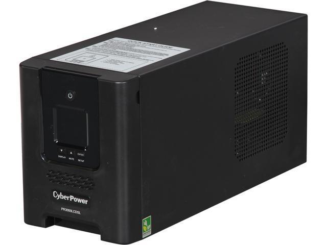 CyberPower PR3000LCDSL 3000 VA 2700 Watts UPS