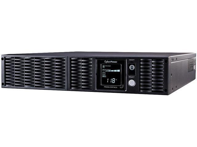 CyberPower Smart App Sinewave PR3000LCDRTXL2UN 3000VA Tower/Rack Mountable UPS