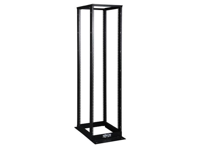 Tripp Lite SR4POST 45U 4-Post SmartRack Open Frame Rack - Organize and Secure Network Rack Equipment