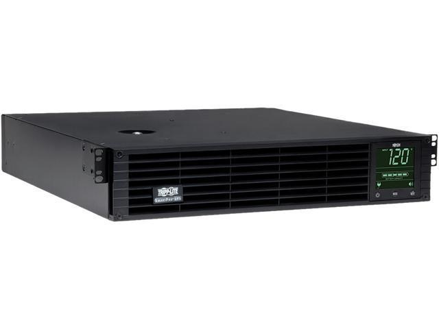 Tripp Lite SMART3000RMXL2U 3000VA 2880W UPS Smart Rackmount AVR LCD 120V USB DB9 SNMP 2URM, 9 Outlets