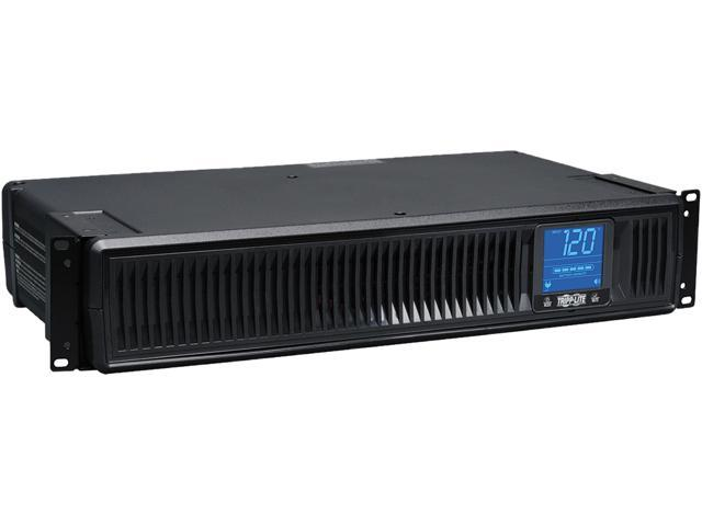 Tripp Lite 1500 VA Smart UPS Back Up, 900 W Rack-Mount / Tower, LCD, AVR, Extended Runtime Option, USB, DB9 (SMART1500LCDXL)