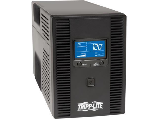 Tripp Lite SMART1500LCDT 1500 VA 900 W UPS Back Up Smart Tower LCD AVR 120V USB Coax RJ45