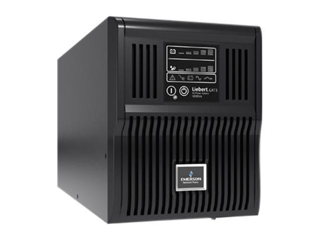 Liebert GXT3 GXT31000MT120 1000 VA 900 W 6 Outlets UPS Newegg – Liebert Ds Wiring-diagram