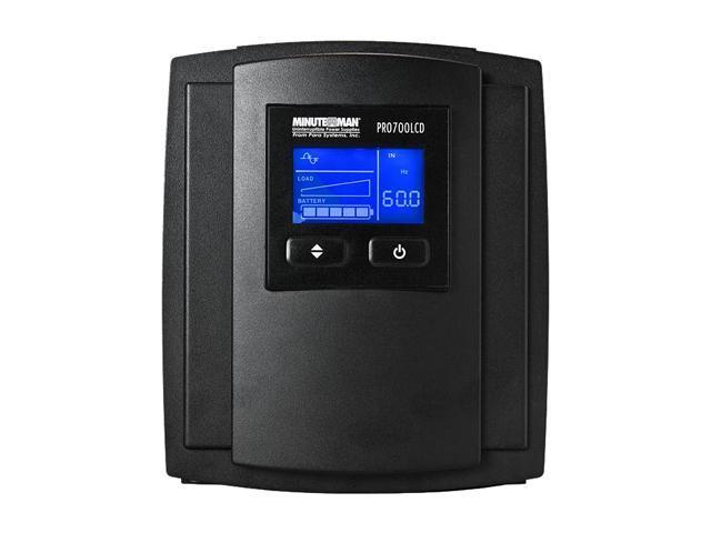 MINUTEMAN PRO700LCD 700 VA 490 Watts UPS