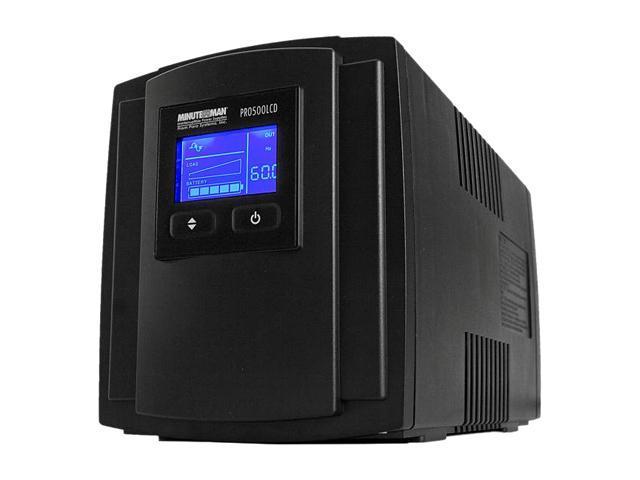 MINUTEMAN PRO500LCD 500 VA 350 Watts UPS