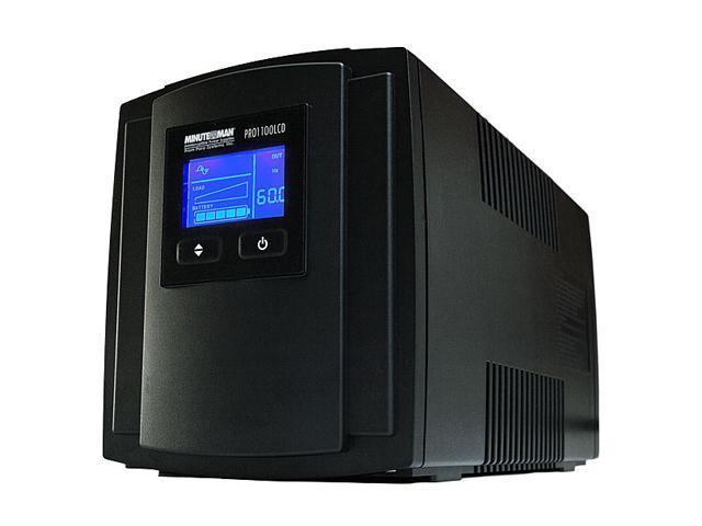 MINUTEMAN PRO1100LCD 1100 VA 770 Watts UPS