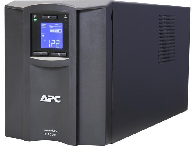 Apc Apc Smart Ups C 1500va Lcd 120v Newegg Com