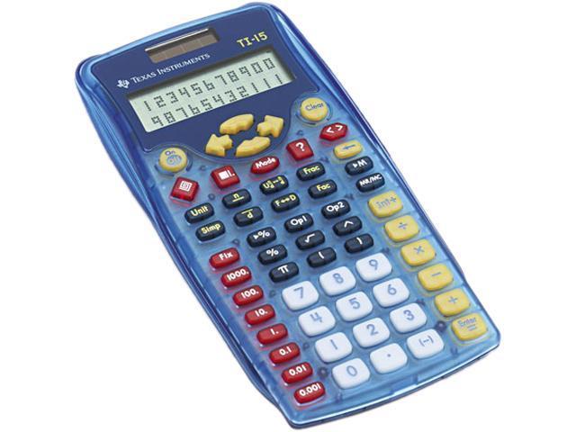 Texas Instruments TI-15 TI-15 Explorer Calculator, 10-Digit Display