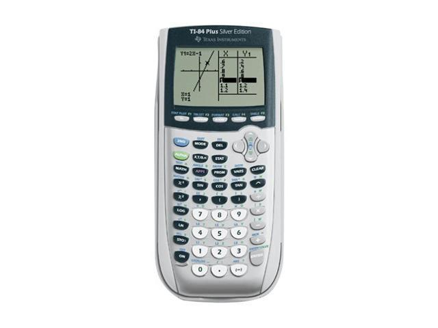 Texas Instruments TI84PLUSSLVRVSC Viewscreen Calculator