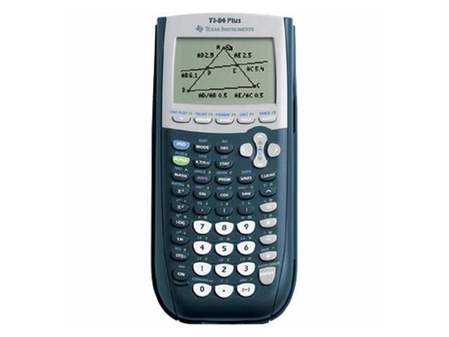 Texas Instruments TI-84PLUS TI-84PLUS Programmable Graphing Calculator, 10-Digit LCD