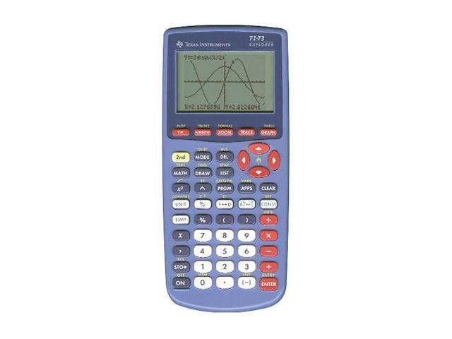 Texas Instruments TI-73 (73/CLM/2L1) Explorer Graphing ViewScreen Calculator