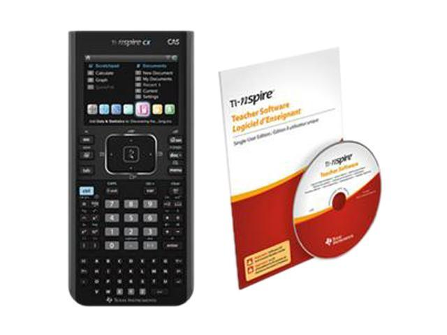 Texas Instruments N3CAS/CBX/2L1/B NspireCX CAS Teacher Bundle