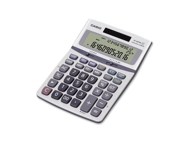 Casio DF-320TM DF320TM Business Desktop Calculator, 12-Digit LCD