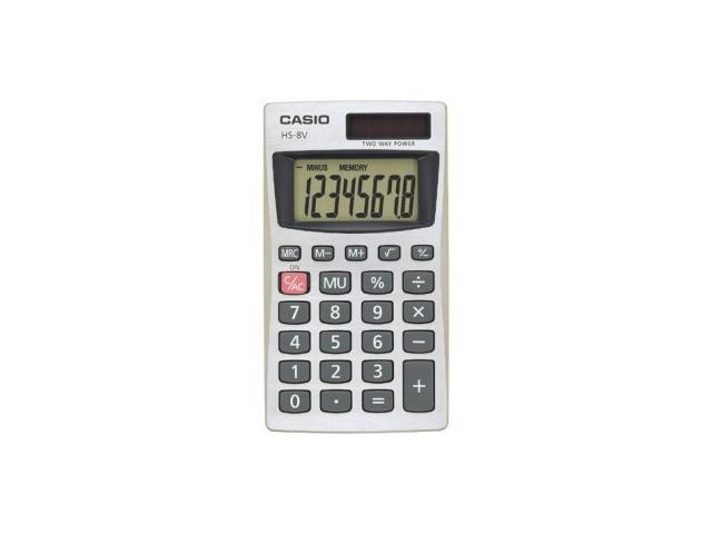 Casio HS-8V Handheld Calculator