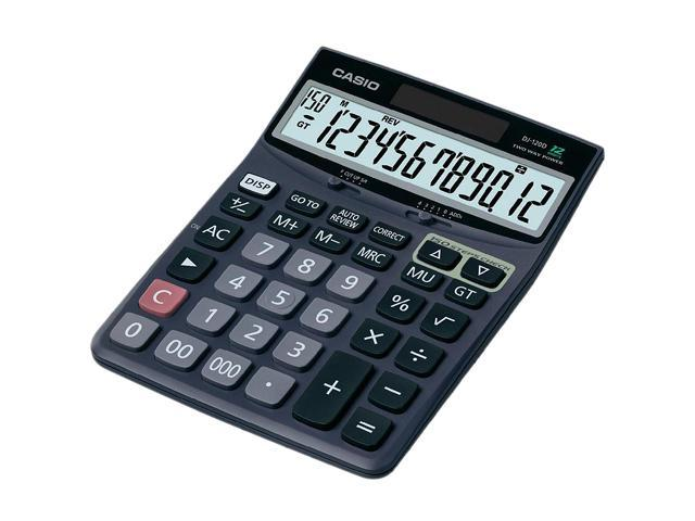 Casio Desk Calculator with Check & Correct Function