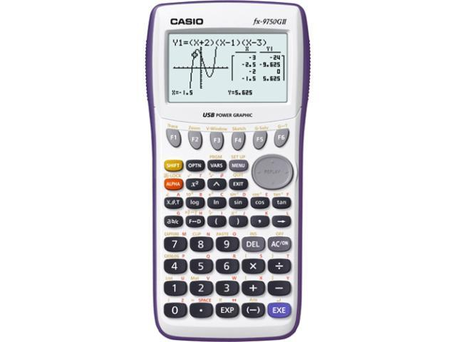 Casio FX-9750GIIWE-L-IH Graphing Calculator