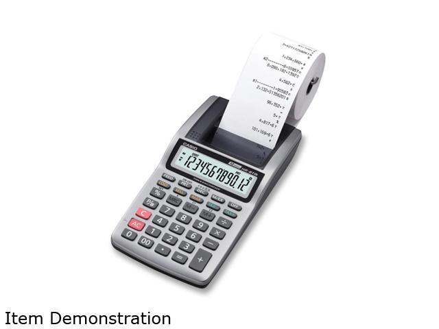 Casio Handheld Printing Calculator