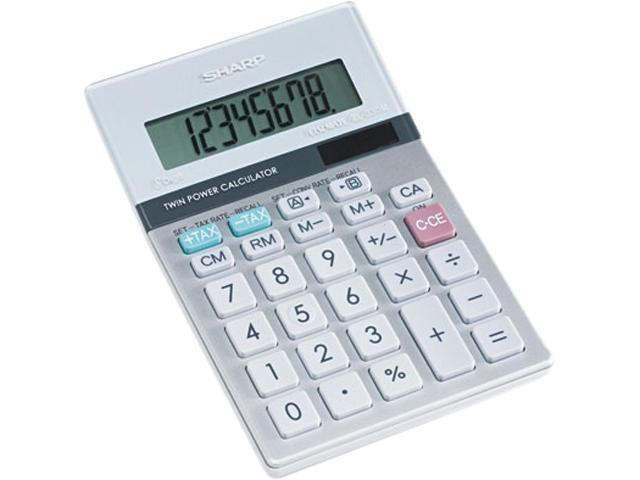 Sharp EL330TB EL330TB Portable Desktop Calculator, 8-Digit LCD
