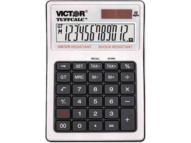 Victor 99901 TUFFCALC Desktop Calculator, 12-Digit LCD