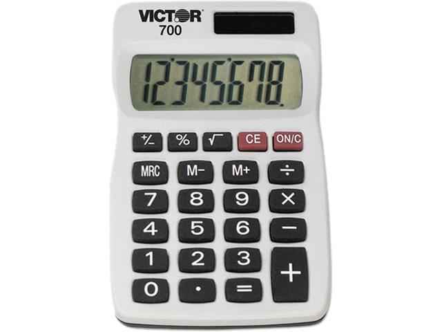 Victor 700 700 8-Digit Calculator, 8-Digit LCD