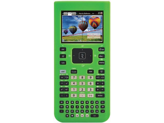 Guerrilla TINSPGREENSC Green Silicone Case for Texas Instruments TI Nspire CX & CX CAS Graphing Calculator