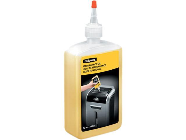 Fellowes 35250 Shredder Oil, 12 oz. Bottle w/Extension Nozzle