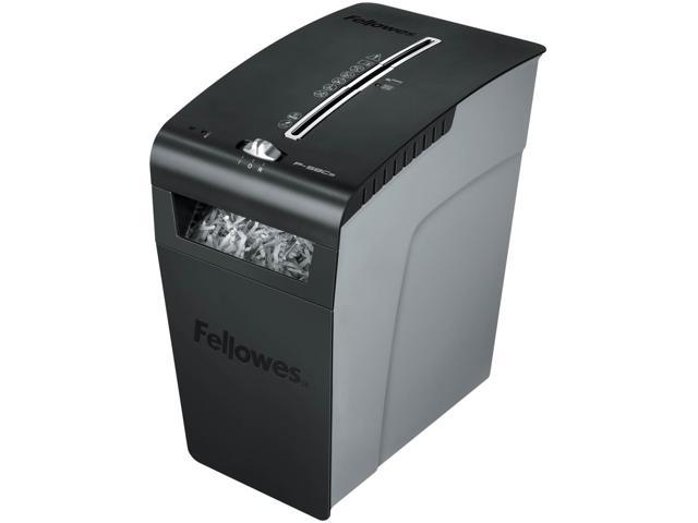 Fellowes 3225901 Powershred P-58Cs Light-Duty Cross-Cut Shredder, 9 Sheet Capacity