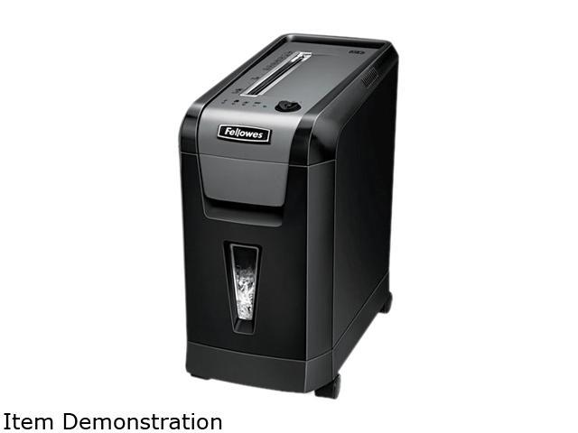 Fellowes 3343301 - Powershred 69Cb Deskside Cross-Cut Shredder, 10 Sheet Capacity