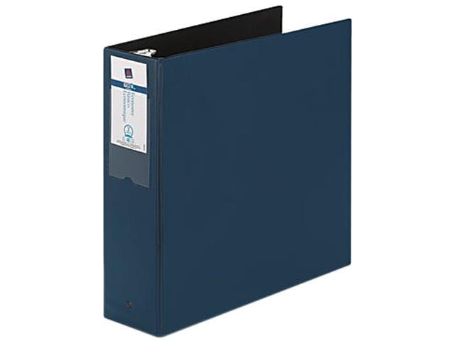 "Avery 04600 Economy Round Ring Reference Binder, 3"" Capacity, Blue"