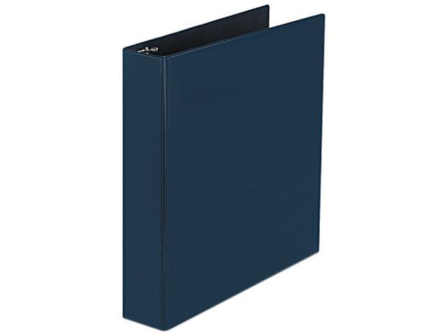 "Avery 07400 Durable Slant Ring Reference Binder, 1-1/2"" Capacity, Blue"