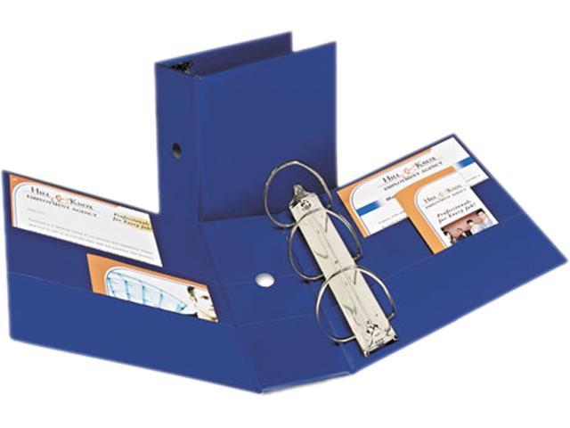 "Avery 07900 Durable Slant Ring Locking Reference Binder, 5"" Capacity, Blue"