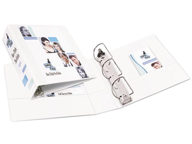 Avery 17042 Durable Vinyl EZ-Turn Ring View Binder, 11 x 8-1/2, 3